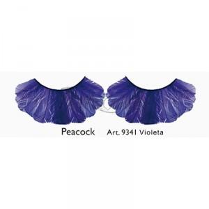 Pestañas Peacock Violeta Kryolan
