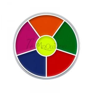 Cream Color Circle UV Kryolan